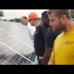 North Carolina Veterans Graduate, Ready for Jobs in the Solar Industry