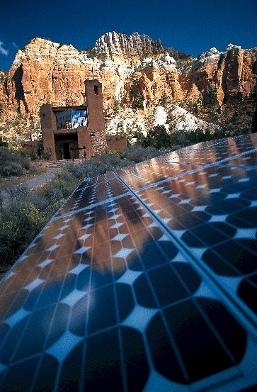 A New Mexico solar home. Courtesy NREL