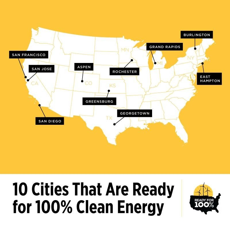 Ready for 100 cities. Courtesy Sierra Club