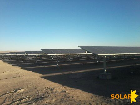 A Solarpack project in Chile. Courtesy Solarpack's Facebook