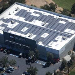 REI's new Distribution Center's 2.2 MW Solar Roof Helps it Reach Net-Zero Energy