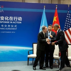 US, China Officially Ratify Paris Agreement on Climate Change
