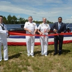 Navy Base in Georgia Goes Solar With 30MW Farm