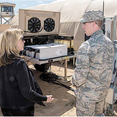 Air Force Tests Solar Microgrid for Forward Operating Bases to Replace Diesel