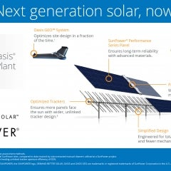 SunPower Streamlines Solar Projects With Drones, Robots