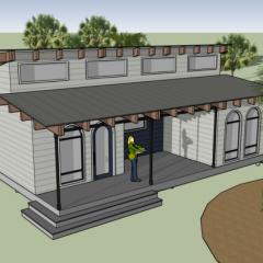 Team Daytona Beach Begins Building the BEACH House  for Solar Decathlon 2017