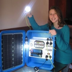 California High School Students Build Portable Solar For Kenya