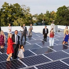Toyota of Corvallis Cuts Ribbon on Net Zero Solar Powered Facility