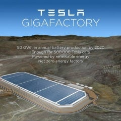 Tesla Adds to 'Mega-ness' of Gigafactory 1 With Gargantuan 70MW Solar Roof