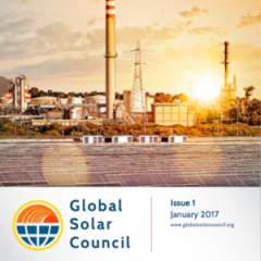 Global Solar Council Introduces First Quarterly Report