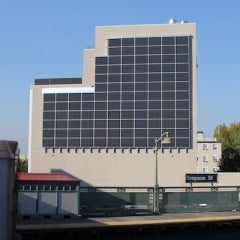 The Bronx Gets a Solar Wall to Power Urban Health Center