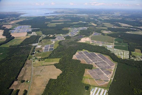 An Community Energy Solar array in Virginia. Courtesy Community Energy Solar