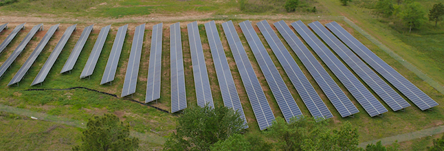 A Solamerica solar farm in Maryland. Courtesy SolAmerica