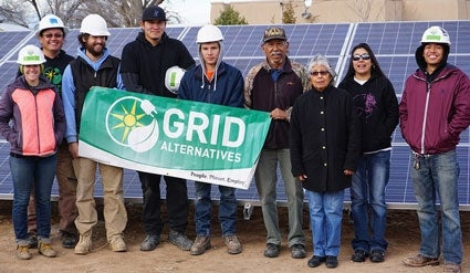 A GRID Alternatives group. Courtesy GRID