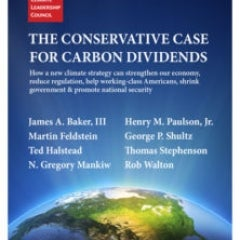 Conservative Group Makes Case for a Carbon Tax