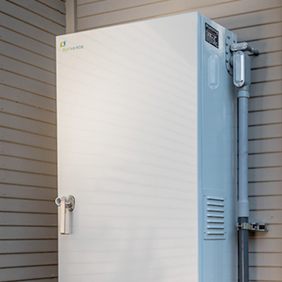 A Sunverge energy storage system. Courtesy Sunverge