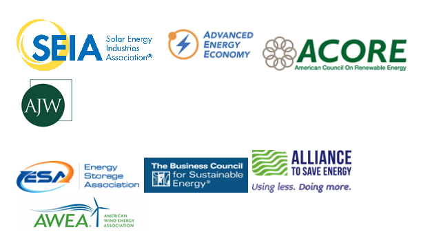 Partners in the #CleanEnergyJobsCampaign. Courtesy SEIA
