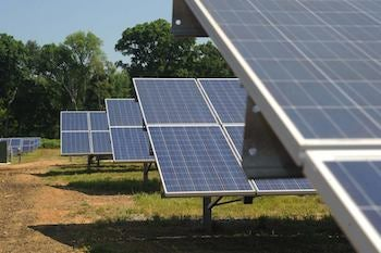 A Georgia Power solar farm. Courtesy Georgia Power