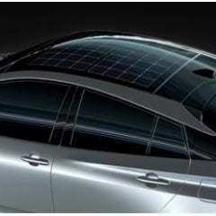 Panasonic Introduces Solar Roof Module Designed For Cars, Starting With  Prius