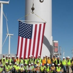 Wind Industry Eyes 250k Jobs by 2020