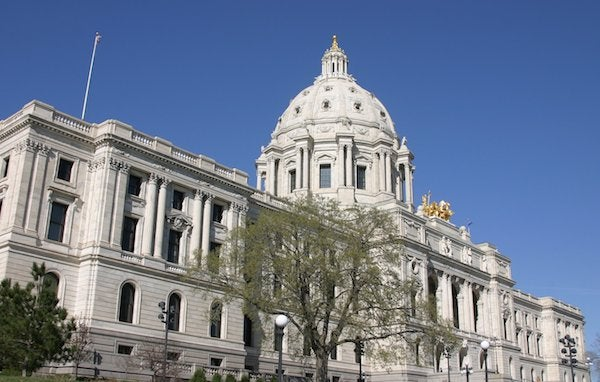 Minnesota's Capitol building. Courtesy Minnesota