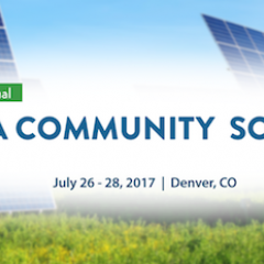 Denver Will Host Nation's First Standalone Community Solar Summit in July 2017