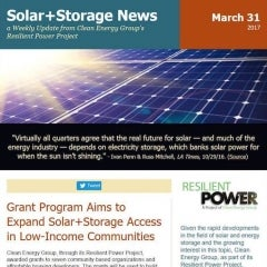 Clean Energy Group Issues 7 Solar + Storage Grants for Low-Income Communities