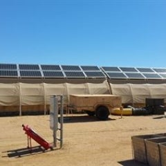 Air Force's new Forward Operating Bases Relying on Solar, Batteries as Energy Source