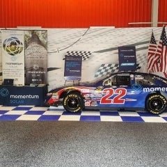 NASCAR Team Races to Help Veterans With Momentum Solar