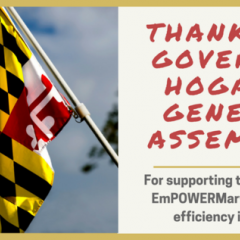 Maryland Renews EmPOWER Maryland, an Energy Efficiency Program