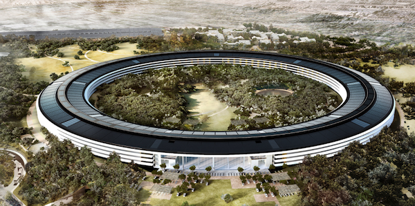 Apple Campus. Courtesy Apple