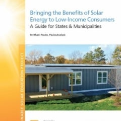 Solar can Benefit Low-Income Households, CESA Shows how in new Guide