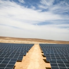 UNHCR, Ikea Complete First Refugee Solar Farm at Azraq Refugee Camp in Jordon