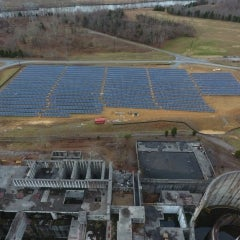 Abandoned Tennessee Nuclear Power Plant Site Finds new Life as Solar Farm
