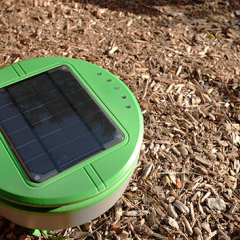 Roomba Inventor Kickstarts Effort to Weed Gardens With Solar Powered Robots