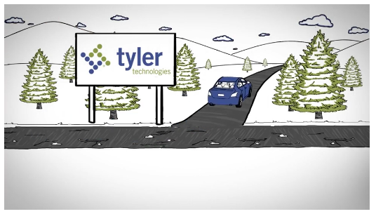 Tyler Technologies Logo. Courtesy of Tyler Technologies.
