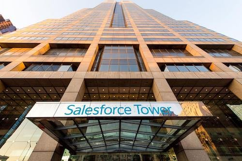 Salesforce Tower in San Francisco. Courtesy of Salesforce.
