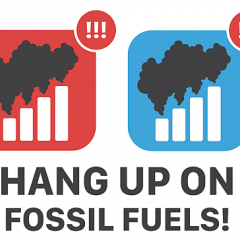 """Hang up on Fossil Fuels"" Launches to Push AT&T, Verizon to 100% Renewables"