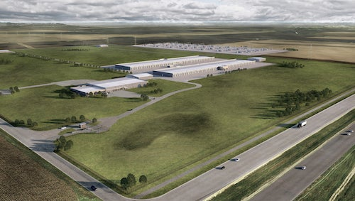 New Apple Data Center in Wake, IA. Courtesy of Apple.
