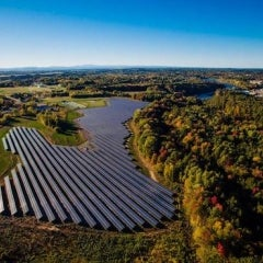 Green Mountain Power, Green Lantern Green Light Community Solar Farm in Vermont