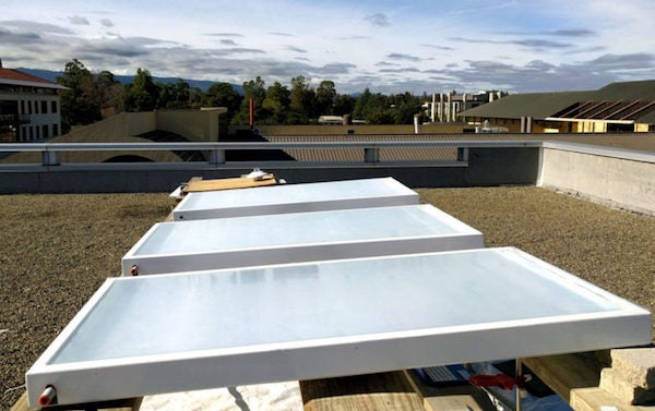 SkyCool Systems Panels. Courtesy Standford