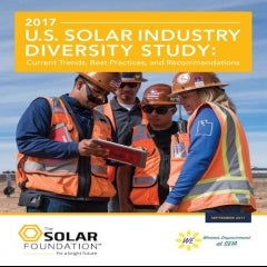 Solar Industry Workforce Lacks Diversity, new Study Outlines Problems and Solutions