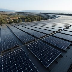 Apple Reaches 100% Renewable Energy, Suppliers Commit to Renewables, too
