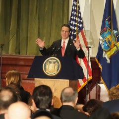 New York Gov. Cuomo Commits to 100% Clean Energy
