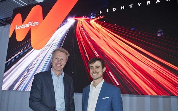 Lightyear and LeasePlan celebrate partnership. Courtesy Lightyear