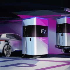 Volkswagen Introduces Mobile EV Fast-Charging, Integrating With Grid, Solar