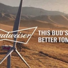 Hotlanta Goes 100% Wind Power With Budweiser During Super Bowl Week