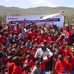 Kenyan Community Gets Electric With World Vision, Panasonic Off-grid Solutions Project
