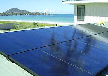 A Hawaiian solar home. Courtesy HECO