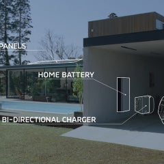 Mitsubishi Introduces Integrated Solar Power Home With Energy Storage and EV